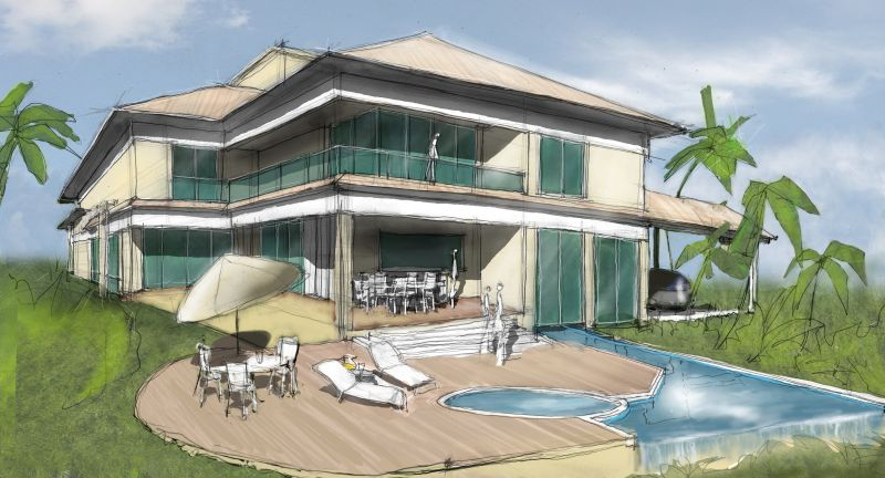 Linux para arquitectos pedacicosarquitectonicos for Modern house 2 point perspective