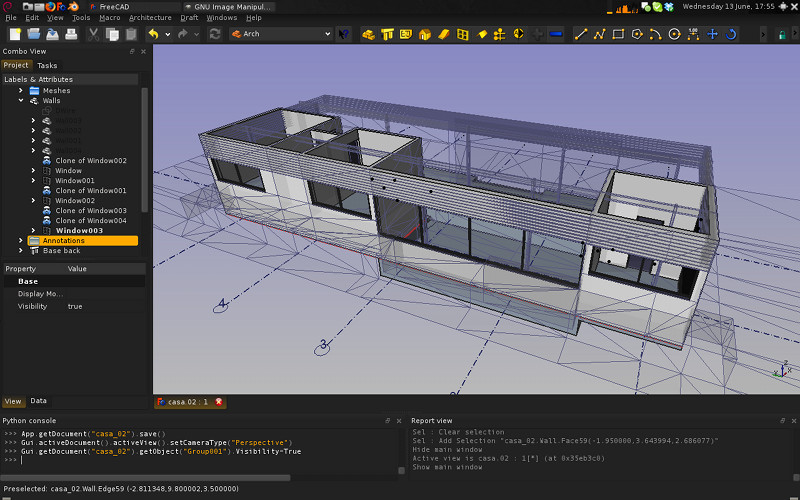 arch mod to design a simple house? - Page 7 - FreeCAD Forum Free Cad Design House on free solidworks designs, free cnc designs, free hand drawing designs, free 3d printing designs, free powerpoint designs, free dxf designs,