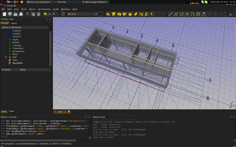 arch mod to design a simple house? - FreeCAD Forum Free Cad Design House on free cnc designs, free dxf designs, free 3d printing designs, free solidworks designs, free hand drawing designs, free powerpoint designs,