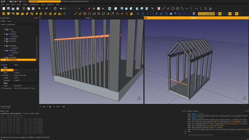 Arch Frame - FreeCAD Forum