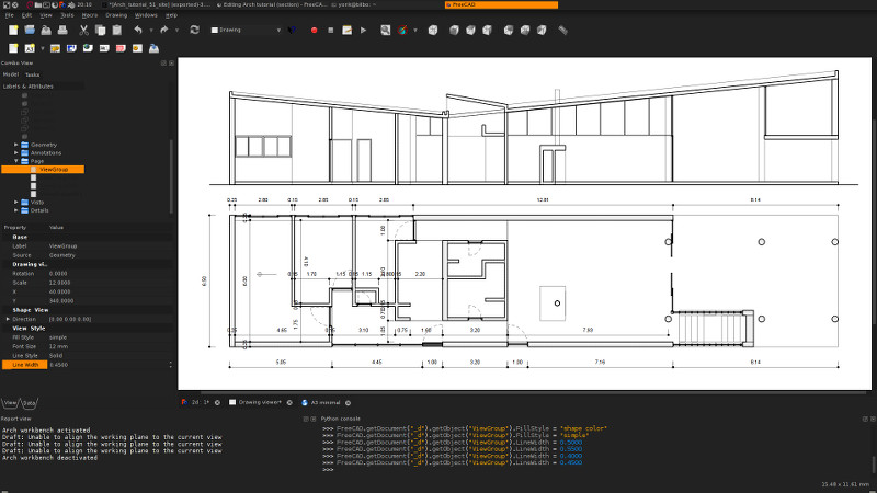Draftsight Floor Plan Tutorial