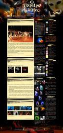 O Teatro Magico website