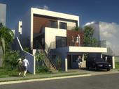 A rendering of a house designed by our friends at Angelo & Zechetti...