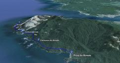 Trilha do bonete, Ilhabela, SP - 15km