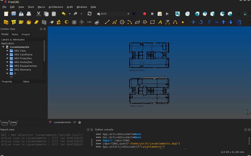 FreeCAD 2D import - Yorik's Guestblog