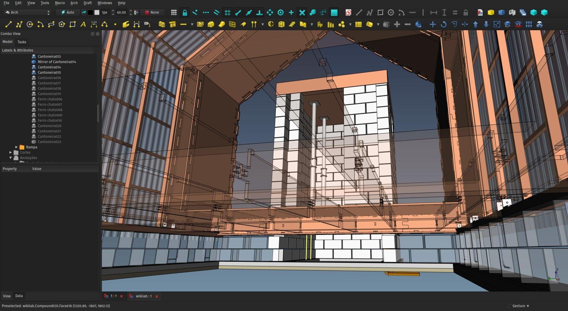 FreeCAD Arch development news - August 2017 - Yorik's Guestblog