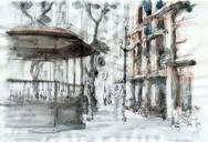 Today's drawing with Urban Sketchers São Paulo, in São Paulo city centre.