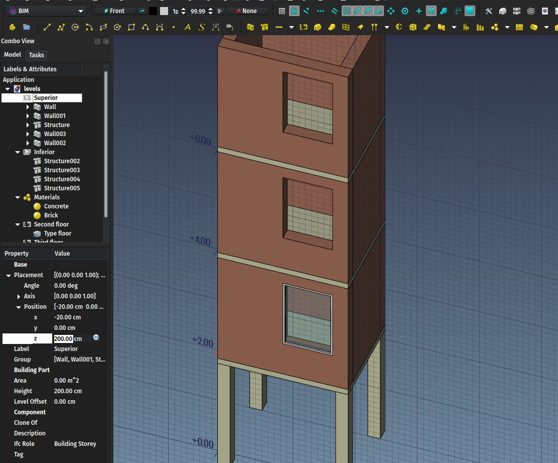 FreeCAD BIM development news - June 2018 - Yorik's Guestblog