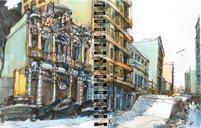 Sketch of today with Urban Sketchers São Paulo