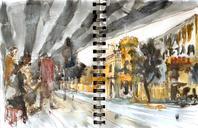 Todays sketches with São Paulo Urban sketchers