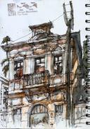 Today's sketches at Vila Mariua Zélia with USKSP.