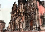 A couple of drawings I did in Cuidad de México: