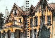 Sketches I did today with Urban Sketchers São Paulo: