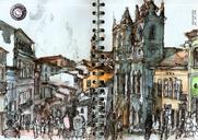 Urban sketching in Salvador