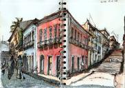 Drawings I did last week in São Luis do Maranhão