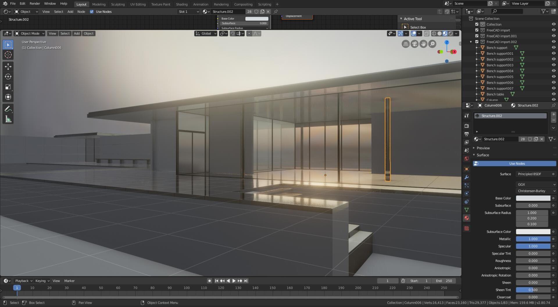 Blender's 3D view