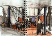 Last sketches, all made in São Paulo, some withthe Urban Sketches São Paulo group, some not...